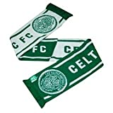 Official GLASGOW CELTIC FC half green half white scarf