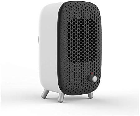 Mini Calefactor Eléctrico Portatil Ventilador Calefactor Calentador De Cerámica PTC Calentador Eléctrico Calentador De Espacio Rápido Adecuado para Dormitorio, Sala De Estar Y Oficina: Amazon.es: Hogar