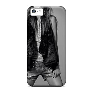 Cute Appearance Cover/tpu Xzjpxha4341QbrJY Alessandra Ambrosio Celebrity Case For Iphone 5c