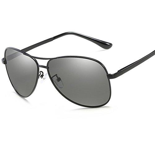 Turismo Gafas 2 7 de Playa Aire Aplicar polarizadas Hombres UV400 Sol de Metal al como Libre a Conducir para Protección y Marco Actividades UUrx1wqBd