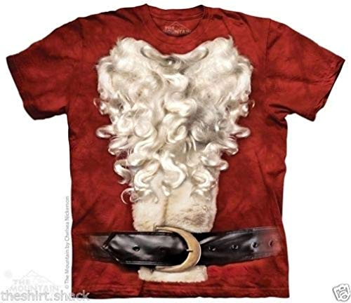 MARS Costume Bad Santa Suit Ugly Christmas T Shirt 4 Sizes ()