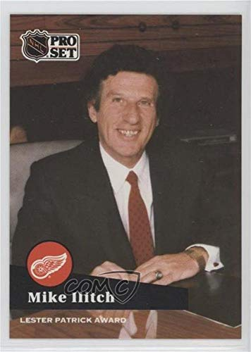 Mike Ilitch (Hockey Card) 1991-92 Pro Set - NHL Awards Special #AC 22