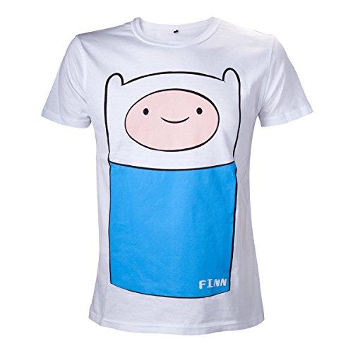 Adventure Time -M- White, Finn full front