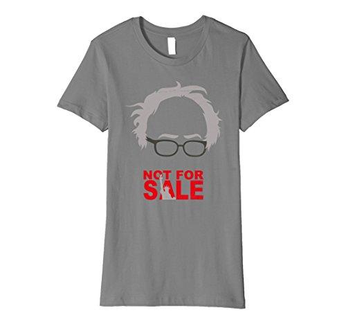 Hindsight Costume (Womens Bernie 2020 Sanders Hindsight is 2020 NOT FOR SALE TSHIRT Medium Slate)