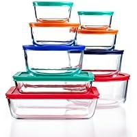 18-Piece Pyrex Food Storage Container Set