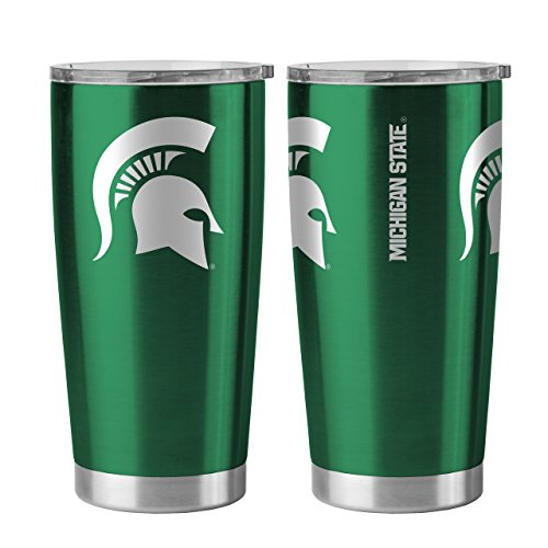 Michigan State Spartans 20 oz Ultra Stainless Steel Travel Tumbler