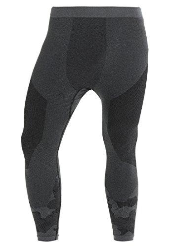 YOURTURN Active by Zalando Men's Running Tights in Black Camo, Size S/M