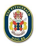 "US Navy Ship USS Fitzgerald DDG-62 Decal Sticker 5.5"""