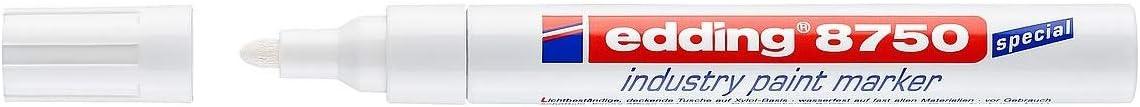 Edding 0007697720025 Rotulador de laca, Blanco