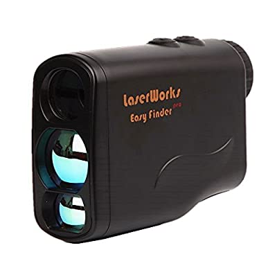 LaserWorks Golf Rangefinder Range 4-600 Yards, +/- 1 Yard Accuracy, Laser Rangefinder With Height, Angle, Horizontal Distance, Speed Measurement Suit For Hunting, Golf, Engineering Surve from DaZhen