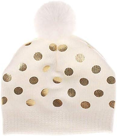 Memela Baby Winter Hat,Toddler Infant Baby Kids Boys Girls Venonat Dot Knited Woolen Headgear Hat Cap