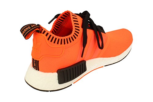 adidas NMD_r1 PK, Scarpe da Fitness Uomo Orange Noise Black White Ac8171