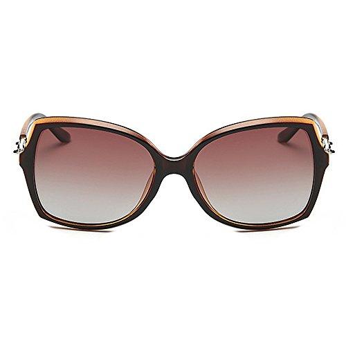 soleil de protection pour soleil plastique rétro cadre classiq Rimmed lunettes yeux de de femmes décoration UV les irrégulières élégant Style polarisées Bowknot soleil lunettes Marron en unisexe lunettes Cat nUzFYwq6F