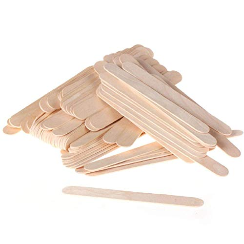 JOVANA Large Wide Wood Wax Spatula Applicator 6'' x 3/4'' 500 pack by JOVANA