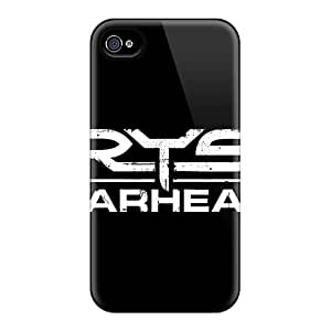 Special Design Back Crysis Logo Phone Case Cover For Iphone 4/4s