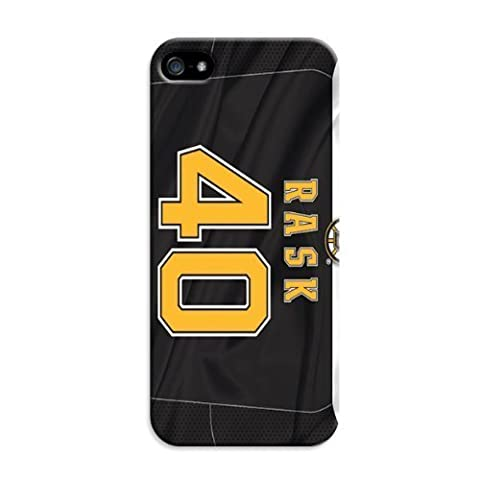 Personalized Monogram Case For Iphone 5/5S - Nhl Boston Bruins Hockey (Iphone 5s Speck Candy Case)