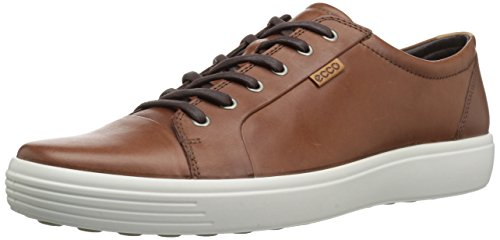 ECCO Men's Soft 7 Fashion Sneaker, Mahogany, 49 EU / 15-15.5 ()