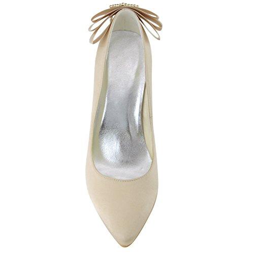 Minitoo , Escarpins pour femme - marron - Champagne-9.5cm Heel,