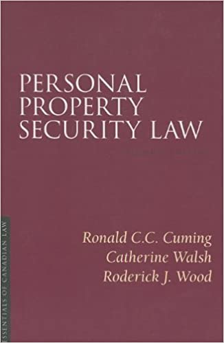 Personal Property Security Law 2//E