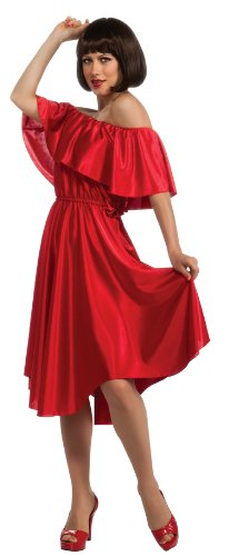 Rubie's Women's Saturday Night Fever Dress, Red, Standard -