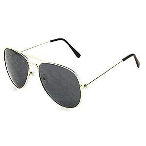 Dark Aviator Sunglasses - Single