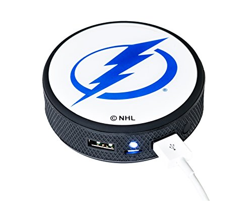 Nhl Tampa Bay Lightning Remote Phone Charger  Black
