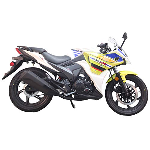 2020 Version 200cc Adult Gas Motorcycle Street Moped Scooter Lifan ...