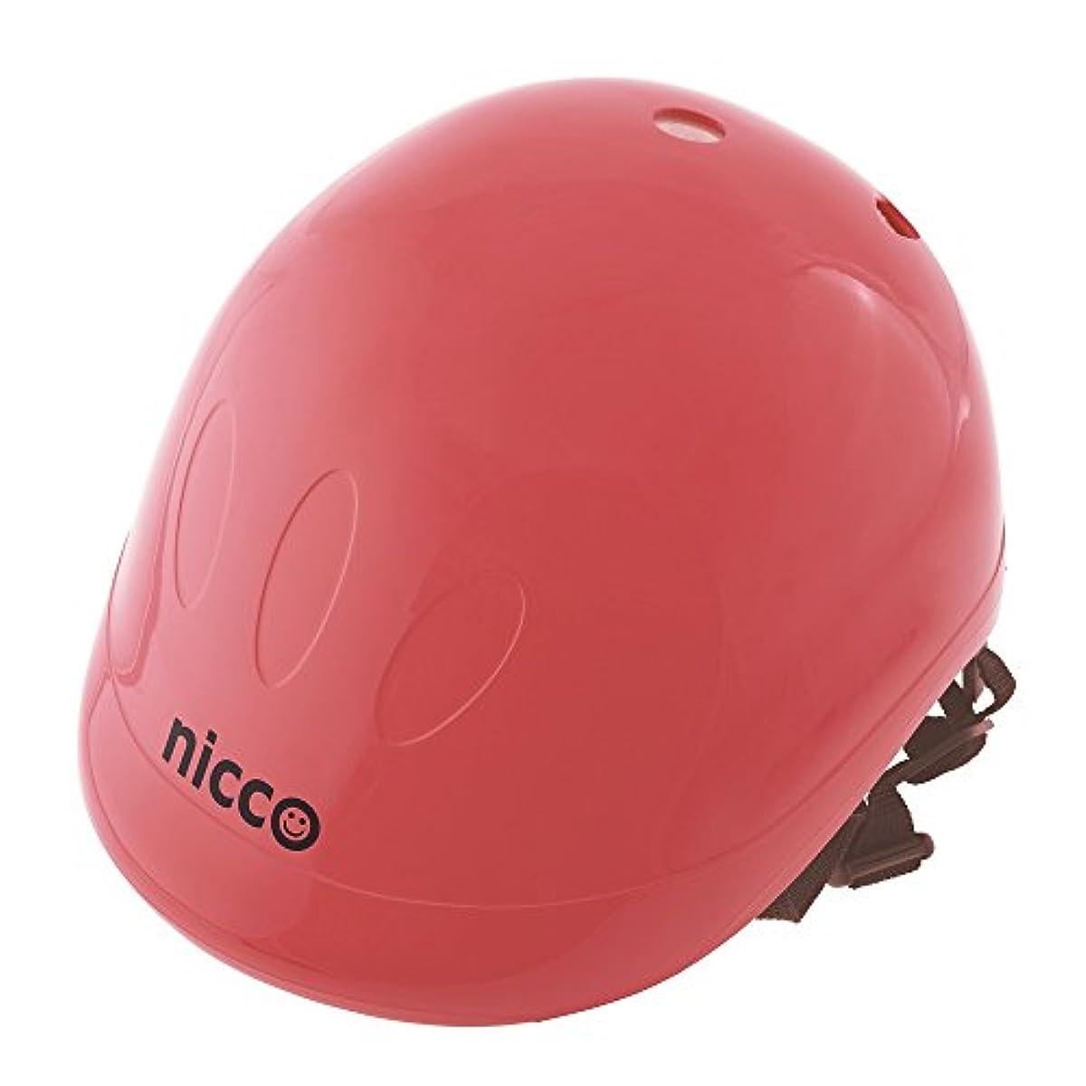 [해외] nicco 니코 하드쉘 헬멧 니코레드 KH001