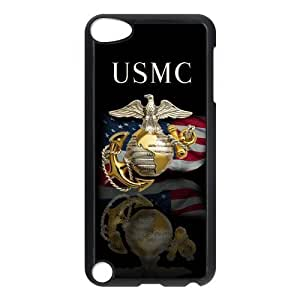 Customize Marine Corps Ipod Touch 5 Case Cover¡ê? Custom Case for Ipod 5