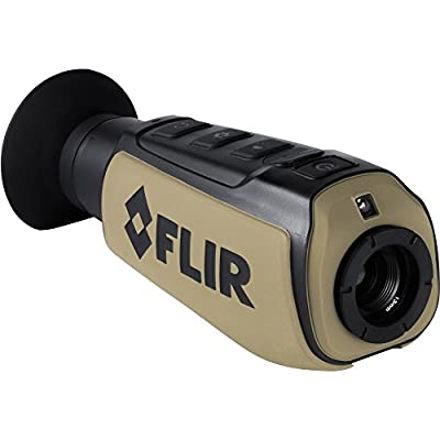 FLIR Systems Scout III-240 Thermal Imager, Detector 240X180 30Hz, Black/Brown