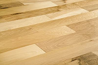 Jasper Engineered Hardwood - Planet Hickory Handscraped Collection - Natural - Hickory - Handscraped - 5""