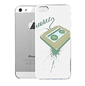 Light weight with strong PC plastic case for iPhone iphone 5s Lifestyle Music Music Splatter