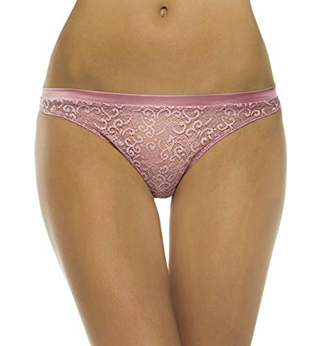 La Perla Women Sophia G-String Thong Panties (18649) (Large / 4, Rose Pink)