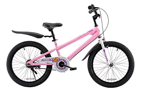 RoyalBaby BMX Freestyle Kids Bike Boy's Bikes and Girl's Bikes Gifts for children 20 inch wheels Pink [並行輸入品] B078HQFXRM