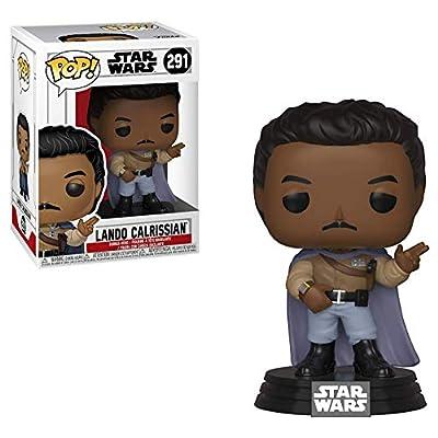 Star Wars: Return of The Jedi - General Lando Calrissian Funko Pop! Vinyl Bobble-Head Figure (Includes Compatible Pop Box Protector Case): Toys & Games
