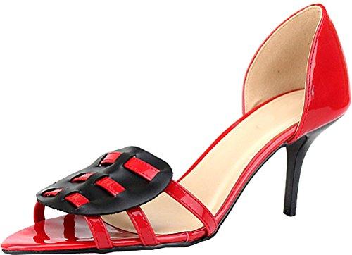 Ballerine Donna Shut Red Ballerine Donna Up Shut Up FdRwq6HF