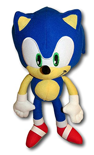 Super Sonic The Hedgehog Classic 11 5  Plush Toy