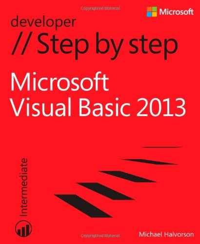 Microsoft Visual Basic 2013 Step by Step by Michael Halvorson, Publisher : Microsoft Press