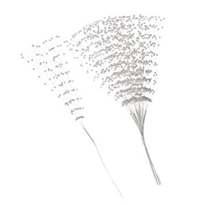 Bulk Buy: Darice DIY Crafts 3mm Pearl Spray White 10 inches 144 pieces (3-Pack B15050-01 24