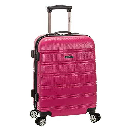 Rockland Melbourne 20 Inch Expandable Abs Carry On Luggage
