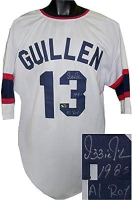 735e9e8dc62 Ozzie Guillen Signed Jersey - TB Custom Stitched 1985 AL ROY XL -  Autographed MLB Jerseys