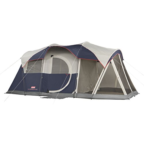 Coleman WeatherMaster 6 Person Screened Tent Review - Comfort & Space | Family Camp Tents