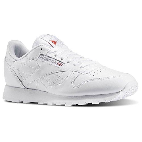 Reebok Menns Klassiske Skinn Sneaker