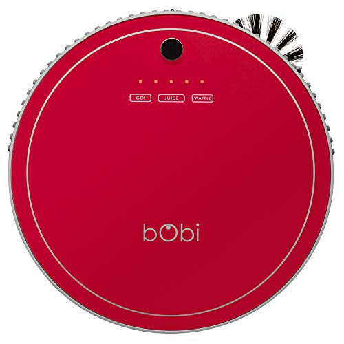 bObsweep bObi Pet Robotic Vacuum Cleaner, Scarlet (Bobsweep Robotic Vacuum Cleaner And Mop Reviews)