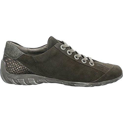 Mujer Zapatillas Grey Remonte R3419 42 Para Black 0w55Oxtq