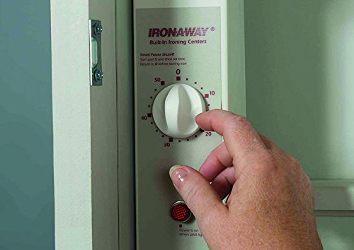 Iron-A-Way Deluxe Swivel Electric Ironing Center, Raised Maple Panel Door by Iron-a-Way (Image #2)
