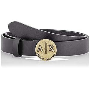 Armani Exchange Women's Plaque Belt