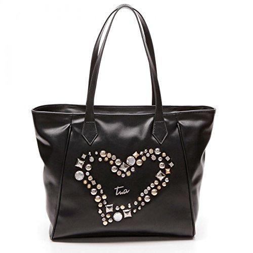 Borsa Shopping Tua Sparkling B10911 100-Nero