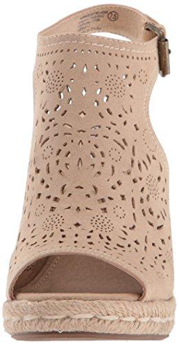 Not Rated Women's Jobyna Espadrille Wedge Sandal Nude new styles best deals 2zRS0h7