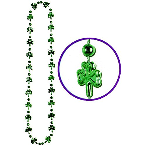 Shamrock Beads Party Accessory (1 count) ()